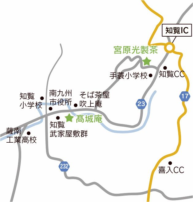 南九州市MAP
