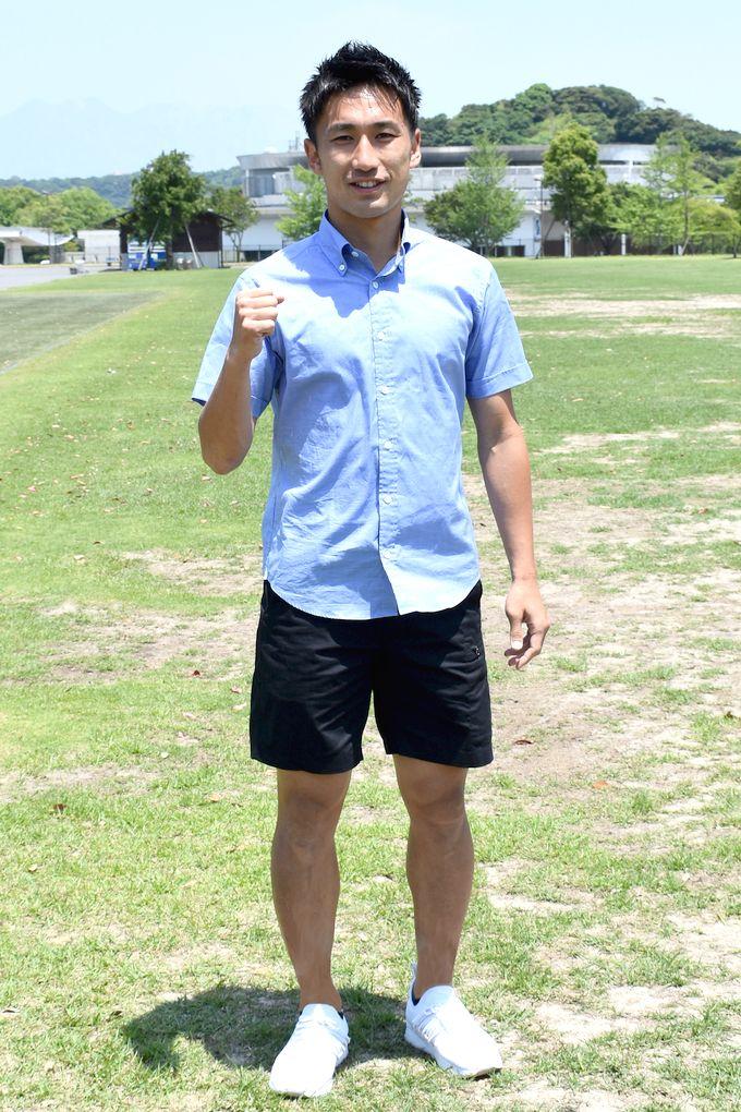 鹿児島ユナイテッドFC:DF/砂森和也選手私服
