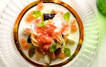 古い記事: すりおろしトマトの冷製パスタ | ごちそう家ごはんメニュー&