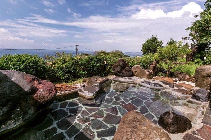 長島温泉センター椿の湯からの眺望