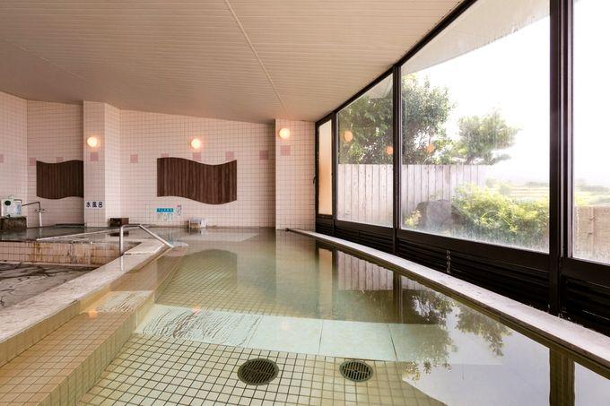 長島温泉センター椿の湯の浴室