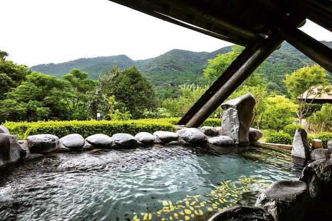 冠岳温泉からの眺望