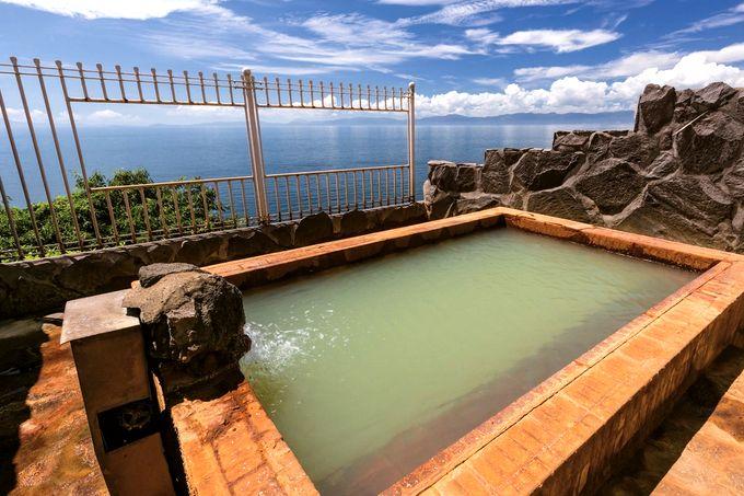桜島シーサイドホテルの露天風呂