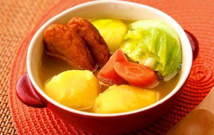 さつま揚げと根菜のカレーポトフ