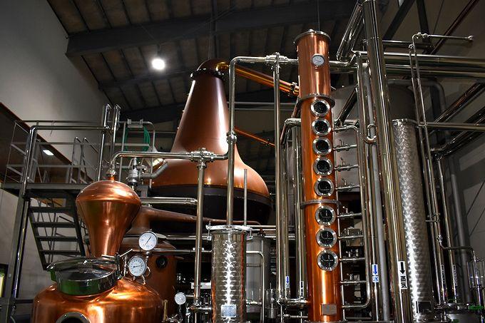 銅製の蒸溜釜