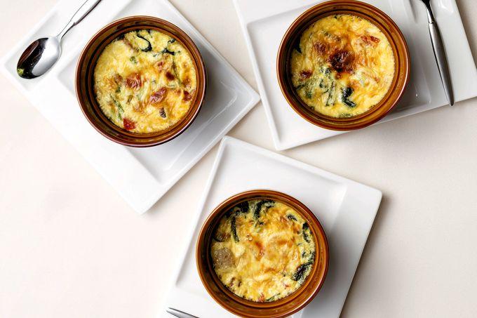 ウインナーソーセージとたっぷり野菜のクラフティサレ