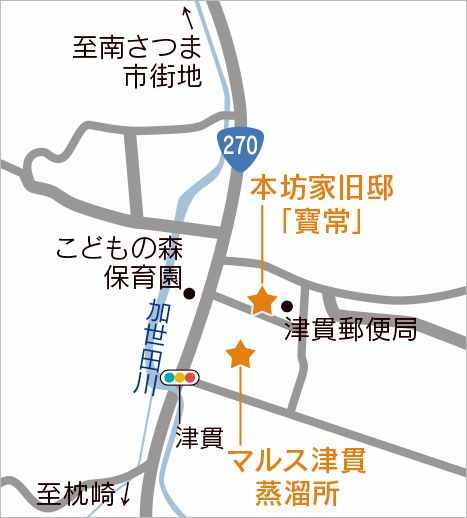 鹿児島よかもん紀行 南さつま市MAP