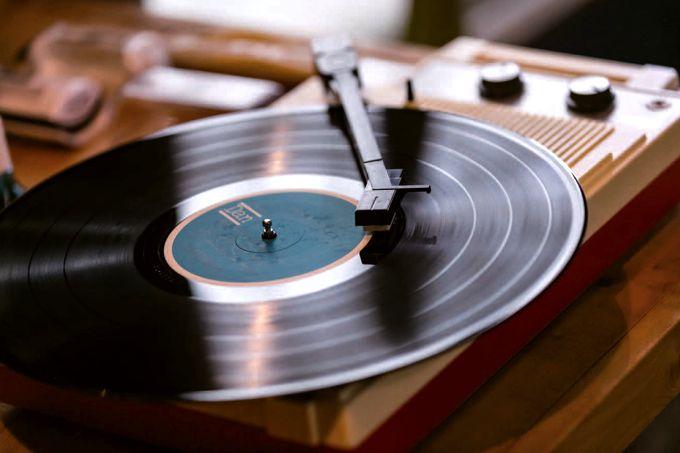 豊富なアナログレコード