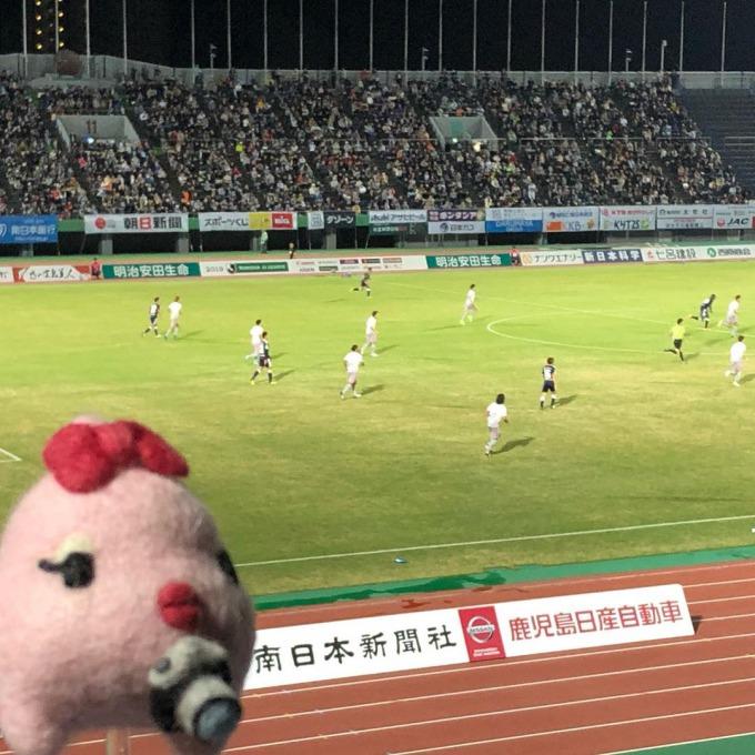 2019/10/30ホーム戦 鹿児島ユナイテッドFC vs FC岐阜(インスタ2019/10/31)