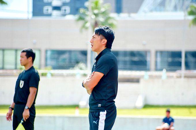 鹿児島ユナイテッドFC U-18:新中剛史監督