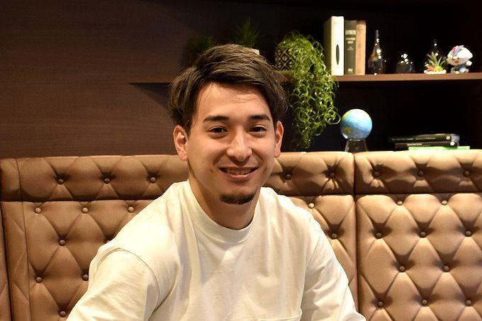鹿児島レブナイズ ポイントガード #14 阿部駿太選手