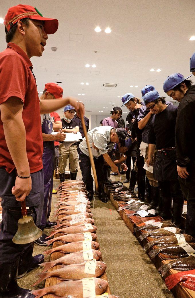 鹿児島市中央卸売市場魚類市場