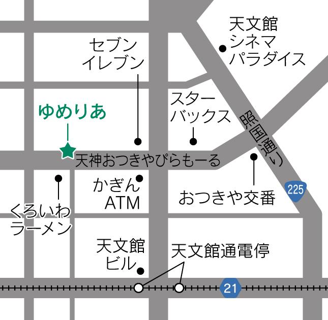 鹿児島よかもん紀行地図