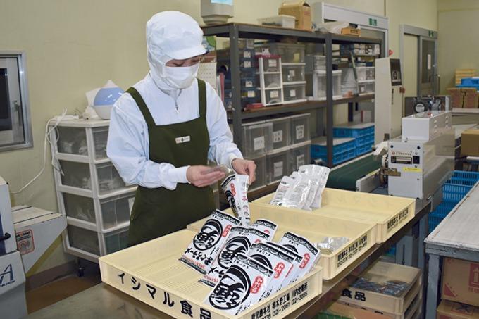 イシマル食品の製麺工場