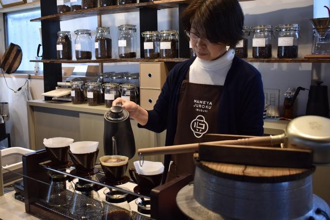 いぶすき珈琲豆屋十六