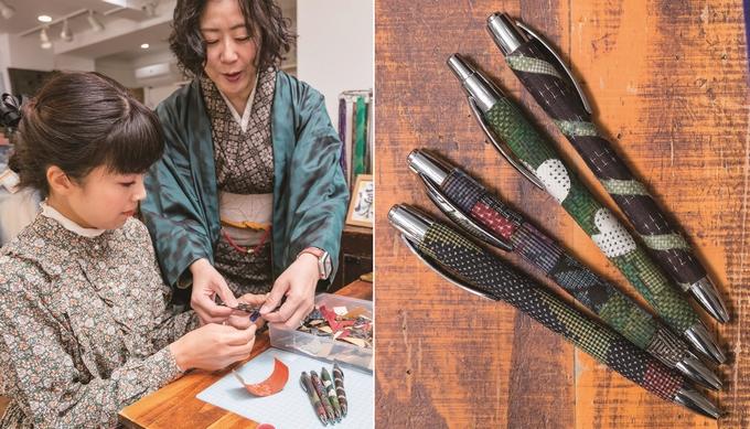ポンジー「オリジナルのペン作り」