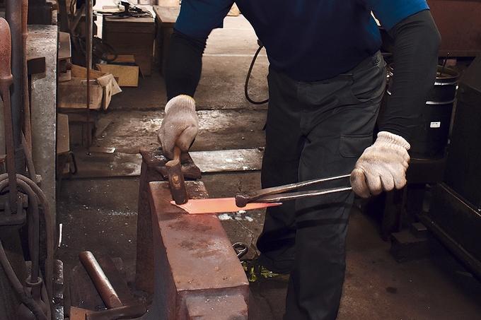 深水 包丁作りの工程3