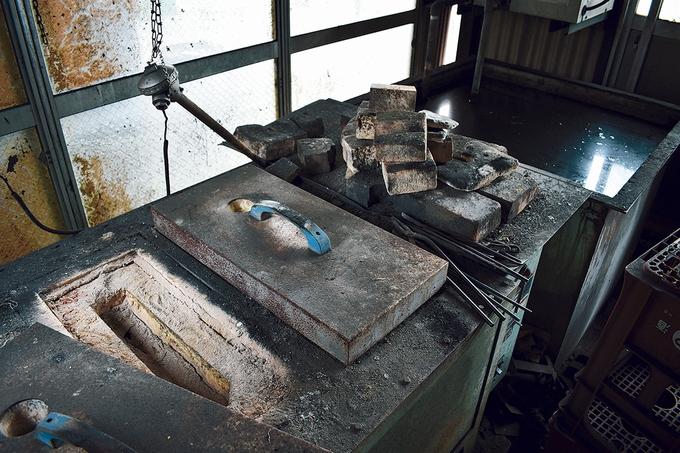 深水 包丁作りの工程4