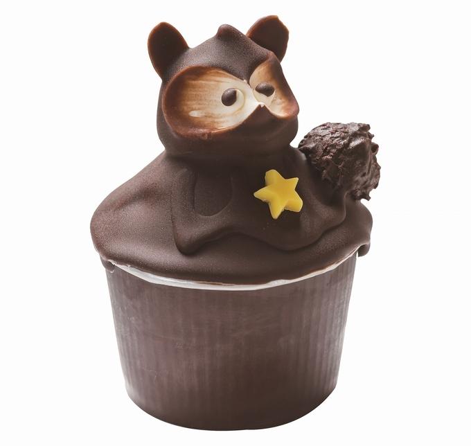 泉菓園・たぬきケーキ