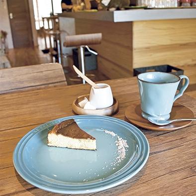Cafe やましろ バスク風チーズケーキ