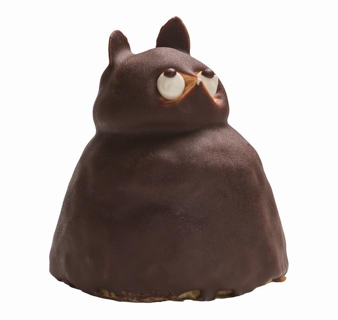 鳥越屋・たぬきケーキ