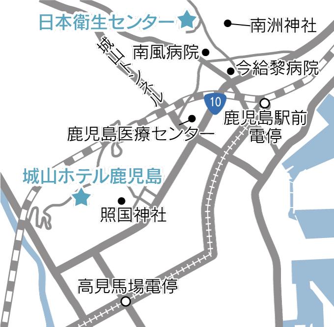 鹿児島よかもん紀行シラスソープ地図