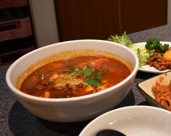 さつま苑「テグタンスープ」