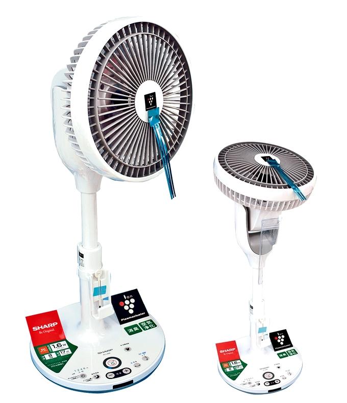 プラズマクラスターDC扇風機