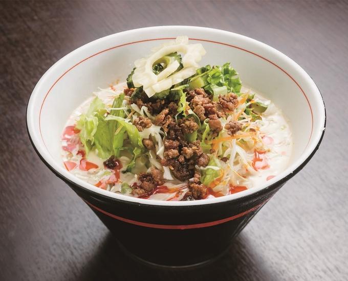 中華料理 口福楼「冷やし豆乳担々麺」