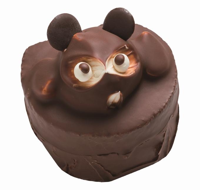 ふく鶴むなかた・たぬきケーキ