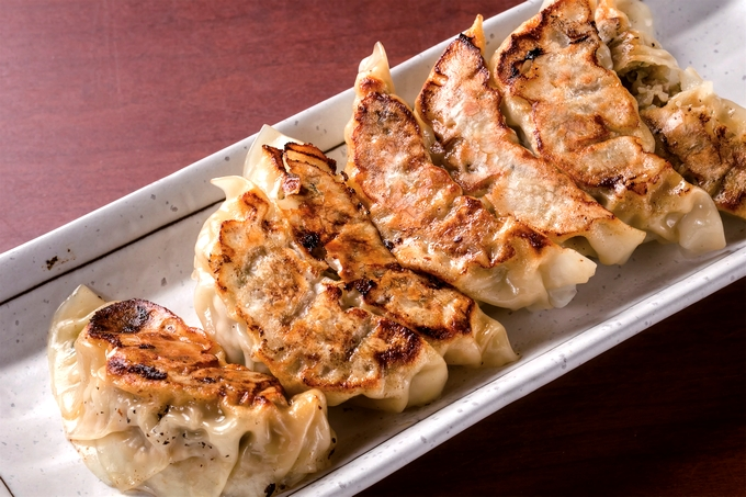 中国料理 紅龍「かつおぎょうざ」
