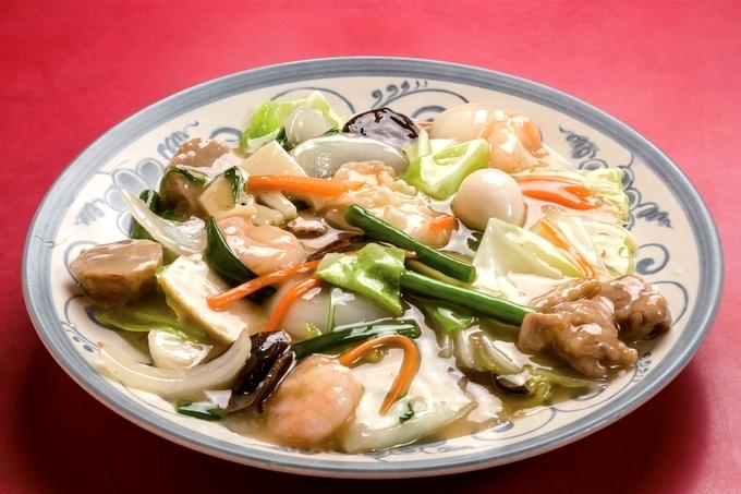 中華料理 光華園「八宝菜」