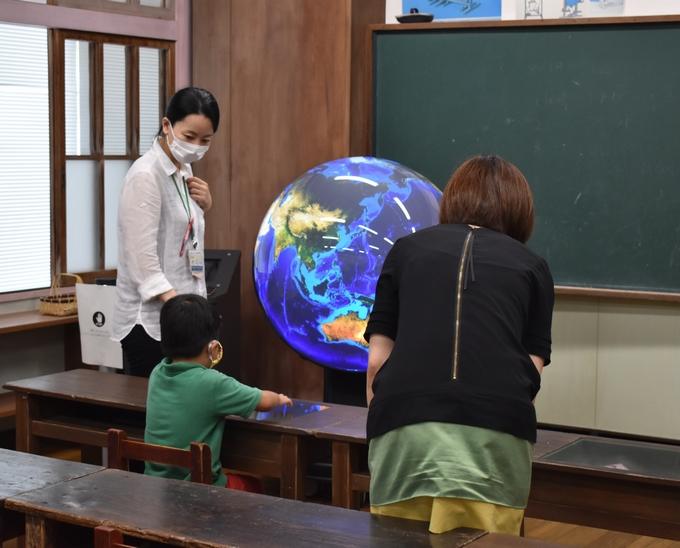 かごしま環境未来館「デジタル地球儀」
