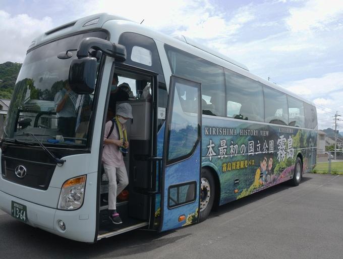 霧島周遊観光バス(西郷どん号)