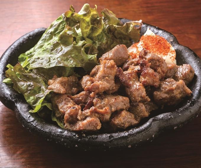 わっか kajiki「あご肉炒め」
