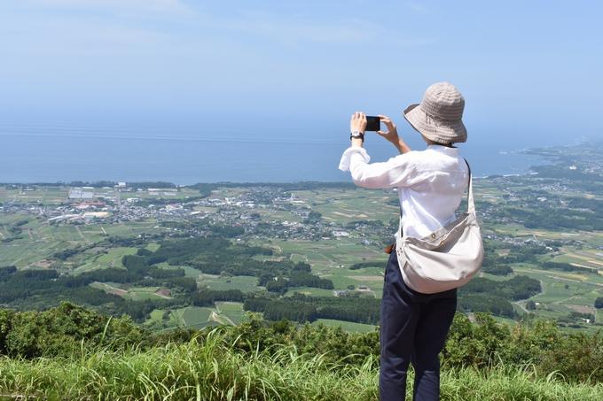 大野岳頂上からの景色