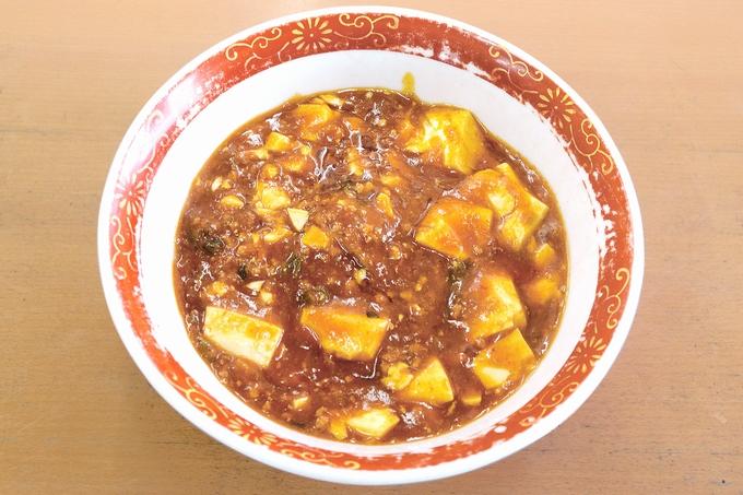 らーめんたんぽぽの麻婆麺(スコーピオン入り0.3辛)