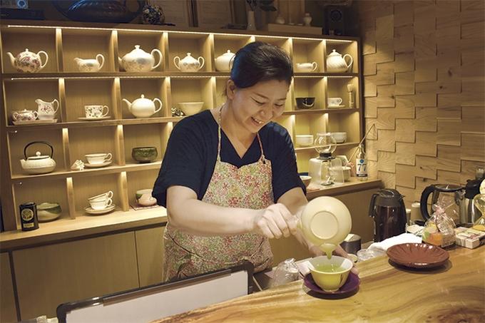 笹野製茶取締役の笹野千津子さん