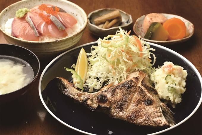 冠八屋「カンパチのかま焼き定食」
