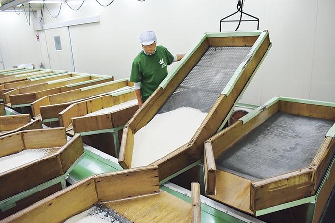 小城製粉「差圧乾燥室」