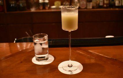 珈琲と洋酒 水「さつまいものショートカクテル」