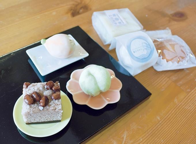 のせ菓楽の和菓子