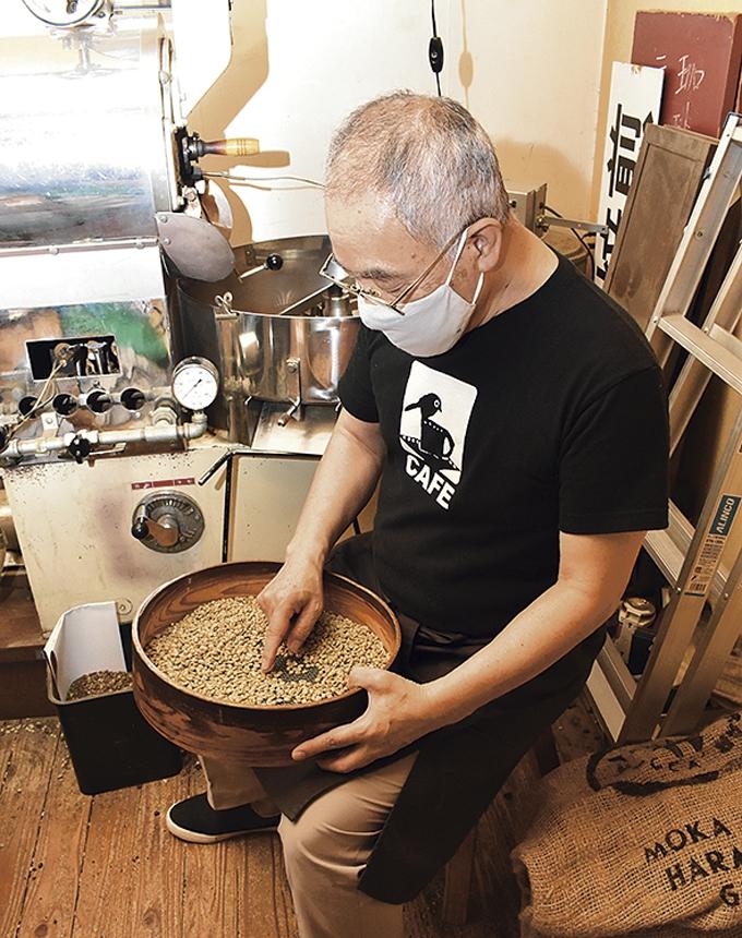 可否館(こーひーかん)館長・永田幸一郎さん