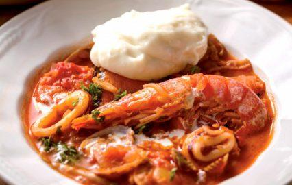 古い記事: 海鮮トマトクリーム煮マッシュポテト添え| ごちそう家ごはんメ