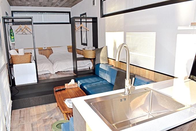 吹上浜フィールドホテル トレーラーハウス