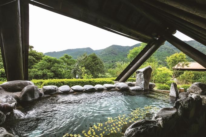 冠岳温泉露天風呂