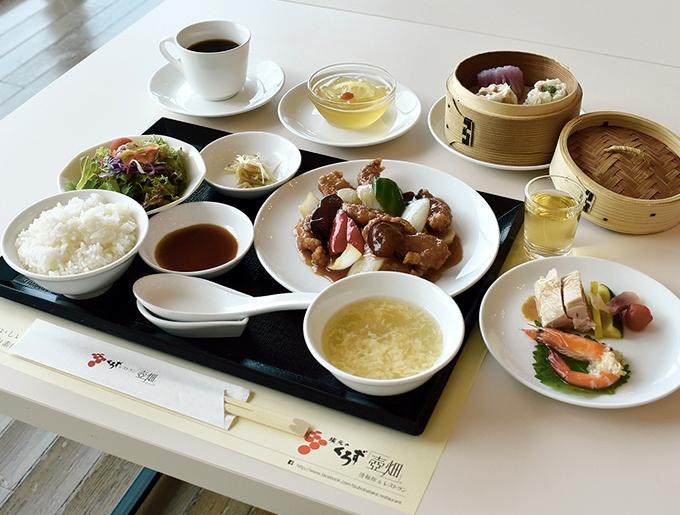 坂元のくろず「壺畑」情報館&レストラン「彩りランチ」