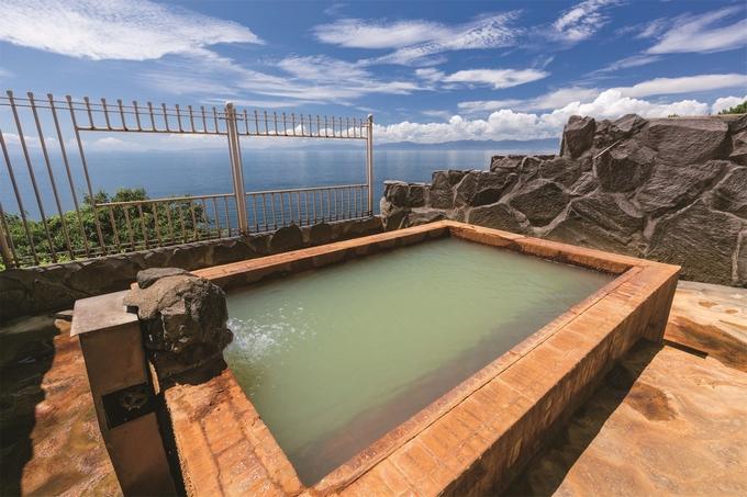 桜島シーサイドホテル露天風呂