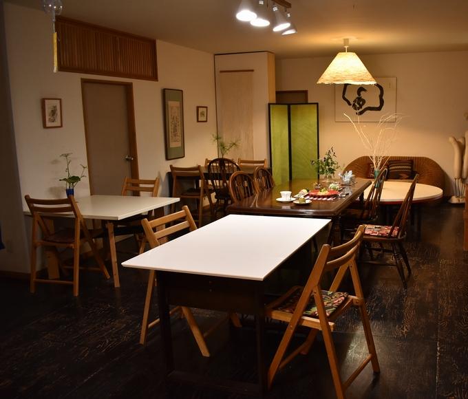 和紙ギャラリーカフェスペース
