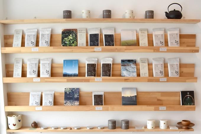 年輪堂「販売している茶葉」